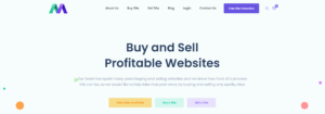 Motion Invest Review - Buy and Sell Websites As Easy As 1-2-3