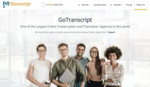 GoTranscript Review - Should You Hire Them?